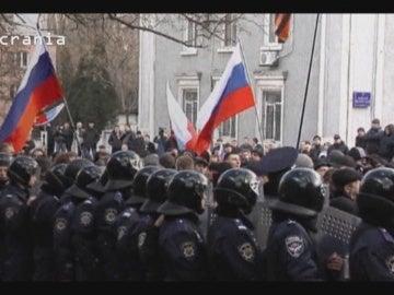 Imágenes del conflicto de Ucrania