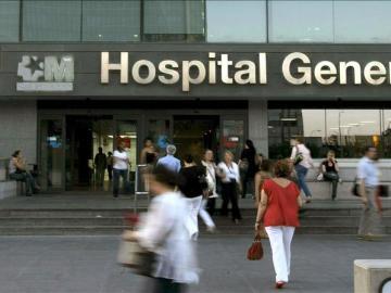 Vista del hospital de La Paz, en Madrid.