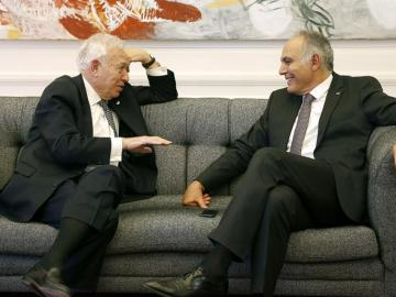 Margallo y su homólogo marroquí