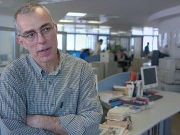 El periodista Mijalis Mitsos en Salvados
