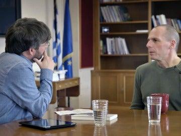 Yanis Varoufakis habla para Salvados