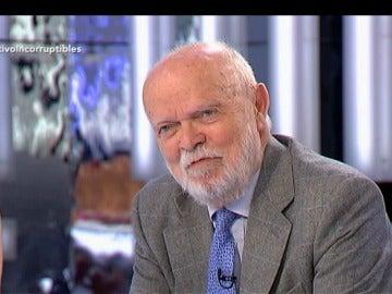 """José Antonio Martín Pallín: """"Todo el sistema debería ponerse al lado de los funcionarios que denuncian"""""""