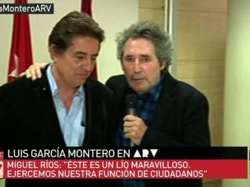 Miguel Riíos y García Montero en ARV
