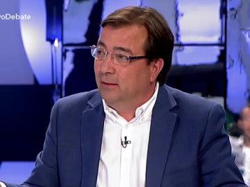 Guillermo Fernández Vara, candidato del PSOE a la Junta de Extremadura
