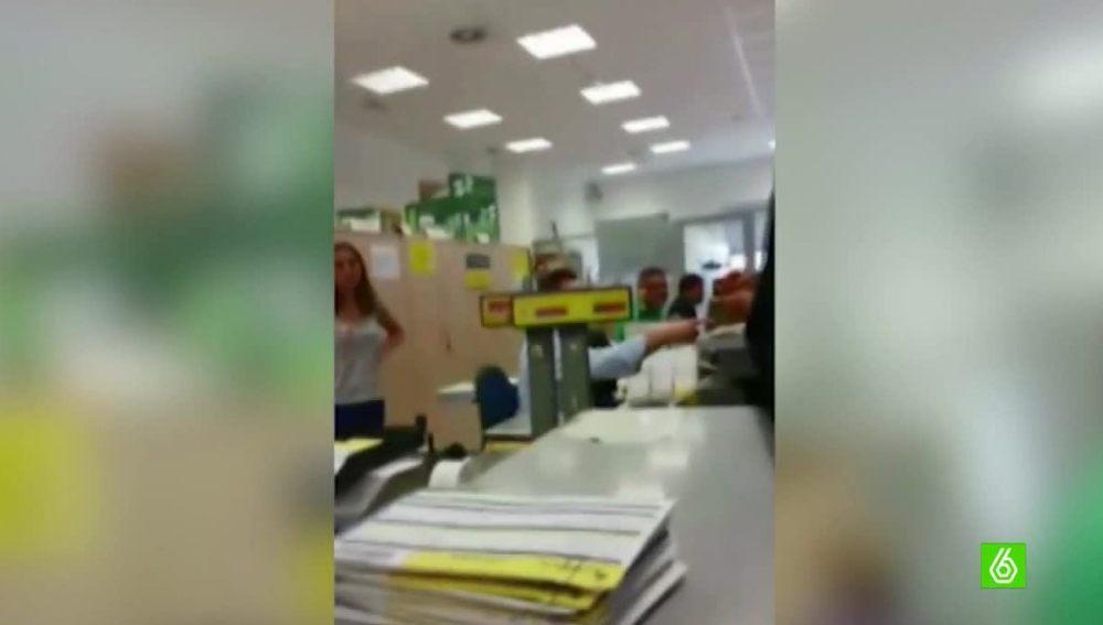 Incidentes en la sede de Correos de Melilla