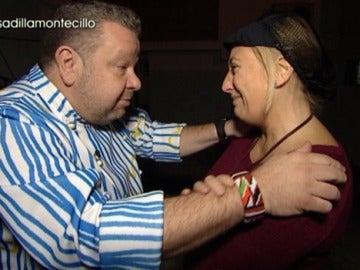 Mónica rompe a llorar con Chicote