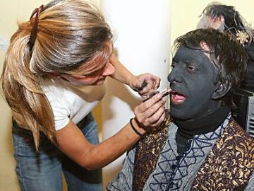 El Rey Baltasar pintado de negro