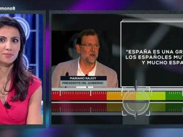 Fact Check a Mariano Rajoy en 'El Último Moni'