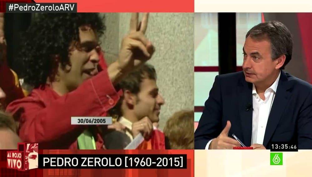 Zapatero, en ARV