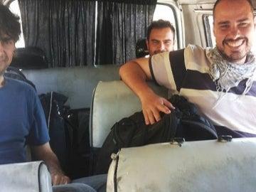 Tres periodistas españoles, desaparecidos en Siria