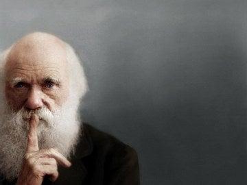 Retrato de Charles Darwin