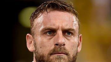 Daniele de Rossi durante un partido