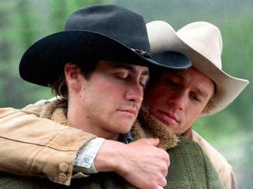Heath Ledger y Jake Gyllenhaal en 'Brokeback Mountain'