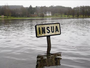 Más de sesenta litros de lluvia por metro cuadrado en Galicia