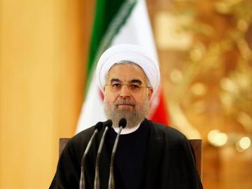 Hasán Rohani, presidente de Irán