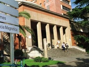 Entrada del Hospital Josep Trueta de Girona