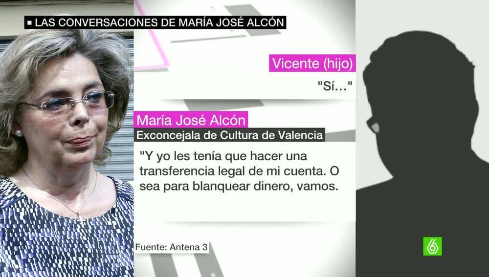 Grabaciones de María José Alcón