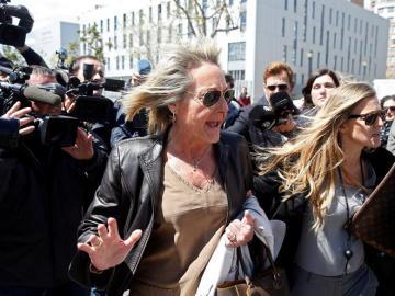 García-Fuster a su salida del juzgado