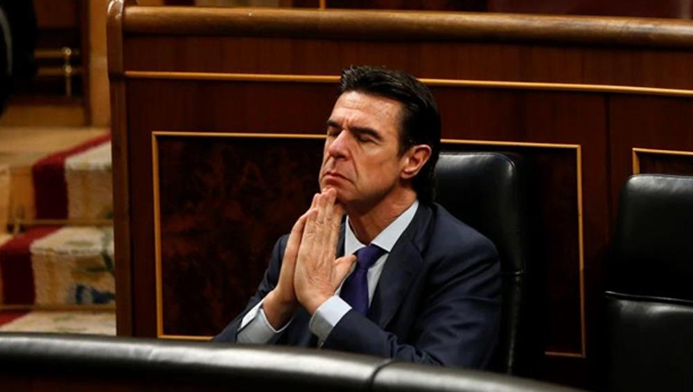 José Manuel Soria, en el Congreso