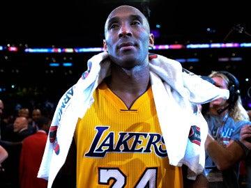 Kobe Bryant, emocionado tras disputar el último partido de su carrera