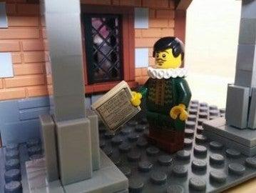 Un Cervantes de Lego con 'El Quijote'
