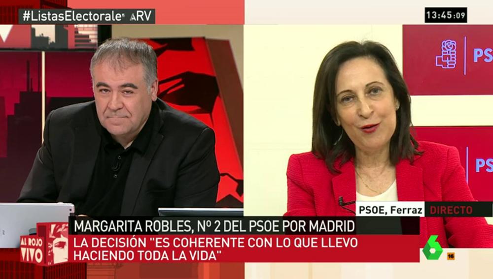 Margarita Robles en ARV