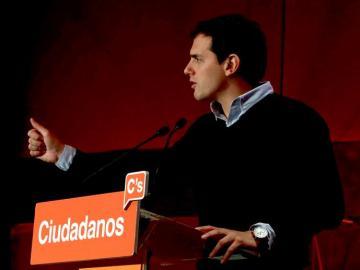 Albert Rivera en el Consejo General de Ciudadanos