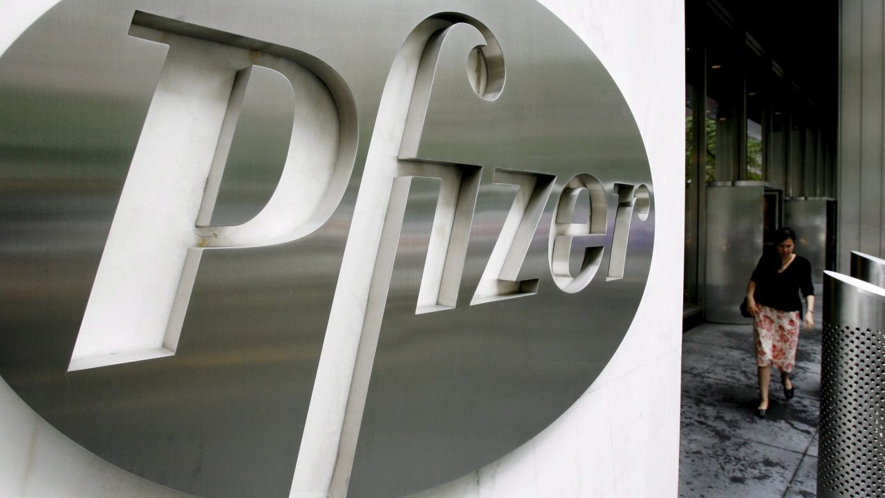La farmacéutica Pfizer