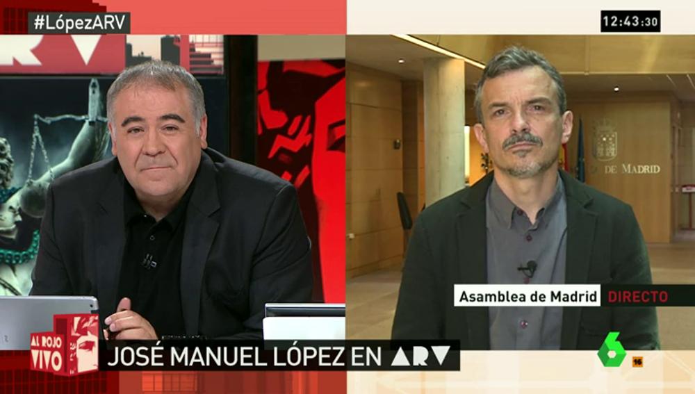 José manuel López en ARV