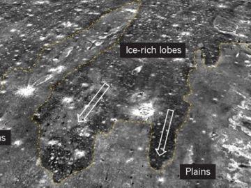 Regiones de Marte investigadas