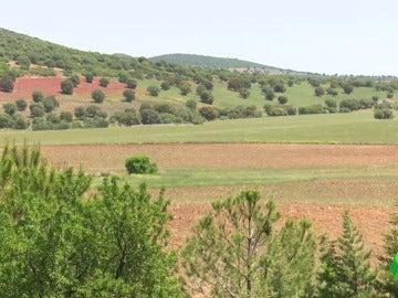 """Frame 0.0 de: El enclave natural del Campo de Montiel peligra por la monacita: """"Será un infierno, el polvo tendrá radioactividad"""""""