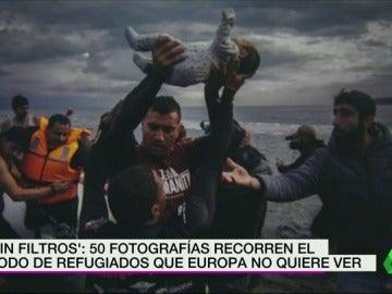Frame 35.648408 de: '#SinFiltros': 50 fotografías recorren el éxodo de refugiados que Europa no quiere ver