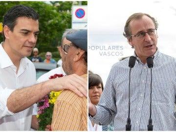 """Sánchez acusa a Rajoy de ser un presidente en """"B"""" y el PP asegura ser la única opción de estabilidad"""