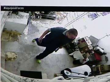 Fernando Barrantes, en una imagen de una cámara de seguridad