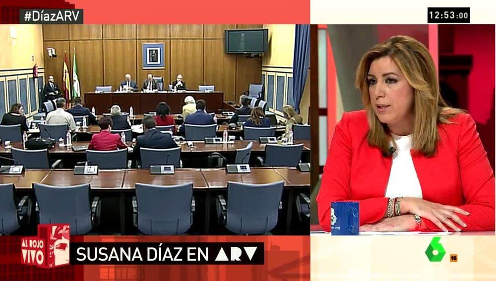 Susana Díaz en ARV