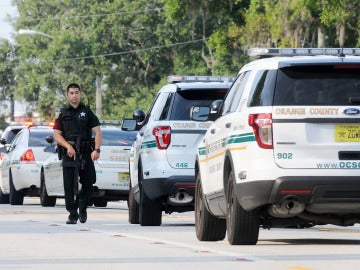 Imagen de policías de Estados Unidos.