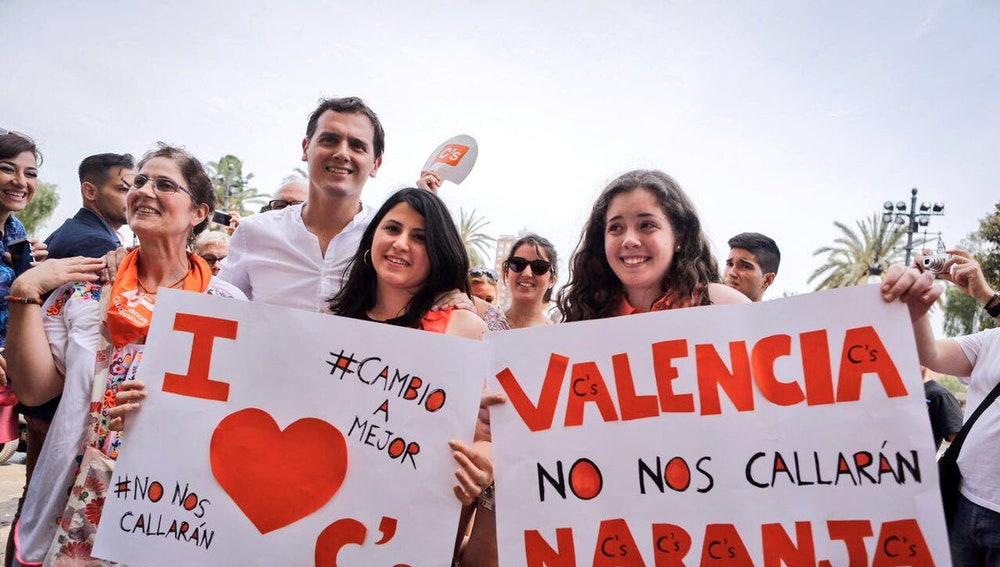 Albert Rivera, candidato de Ciudadanos