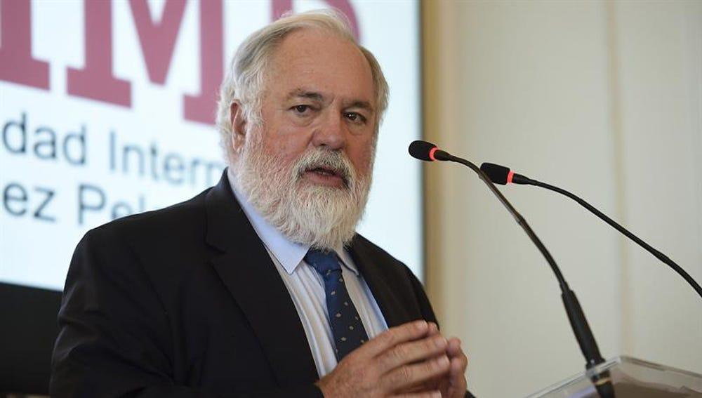 El comisario de Energía y Cambio Climático de la UE, Miguel Arias Cañete