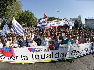 Marchas por el Orgullo Gay en Madrid