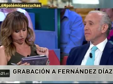 Pardo de Vera y Eduardo Inda, en laSexta Noche
