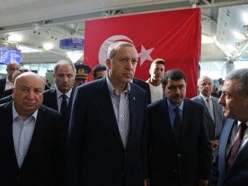 Presidente de Turquía, Erdogan