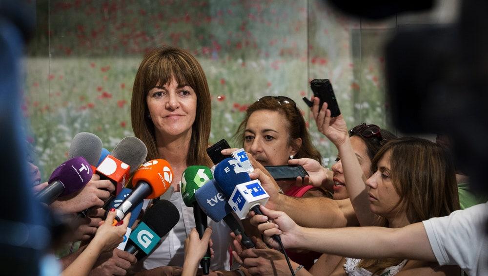 """Idoia Mendía, del PSE: """"Somos la alternativa al PP, por eso, el PSOE dirá no a la investidura de Rajoy"""""""