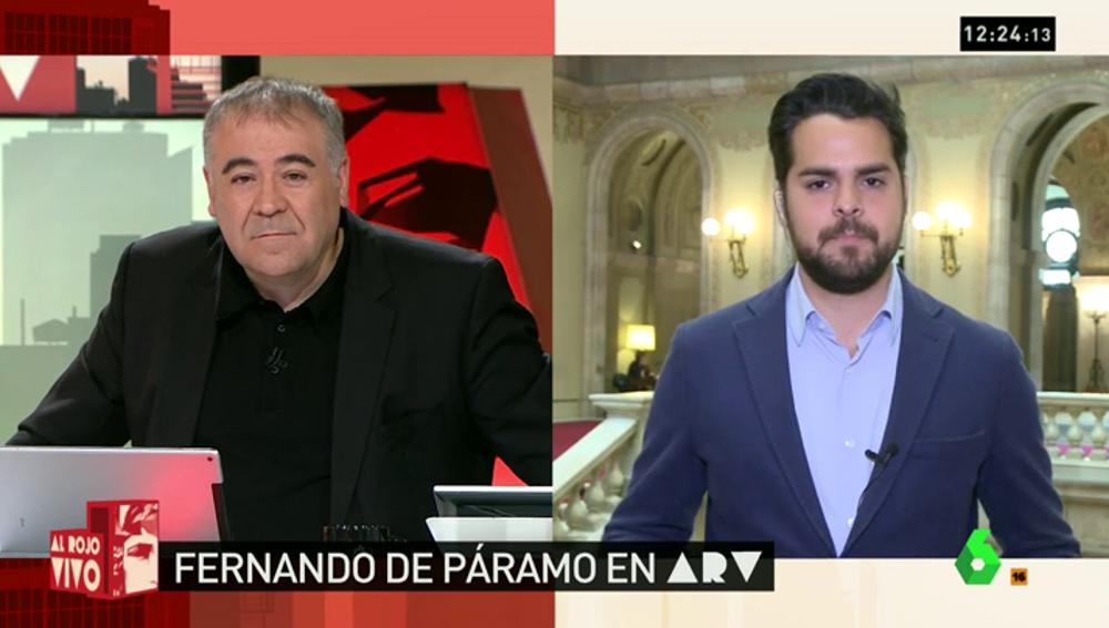 """Frame 1.122839 de: De Páramo: """"A Rajoy sólo le queda un gobierno en minoría del PP con abstención del PSOE"""""""