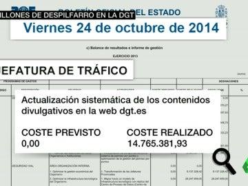 Frame 18.301027 de: Denuncian nuevas irregularidades en la Dirección General de Tráfico
