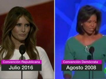 Frame 7.272305 de: La autora del discurso de la mujer de Trump admite que utilizó frases de Michelle Obama