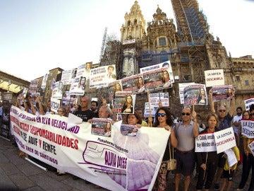 """Víctimas del Alvia siniestrado en Santiago piden """"justicia"""""""