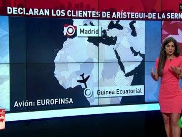 Frame 64.251833 de: Un empresario prestó un avión privado a Arístegui para que hiciera negocios a Guinea Ecuatorial cuando era diputado