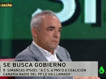 Rafael Simancas interviene en laSexta Noche