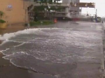 Frame 38.095972 de: El tifón Nida llega a Hong Kong siendo el peor que se recuerda desde 1983