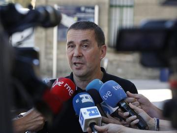 El líder de Sortu, Arnaldo Otegi